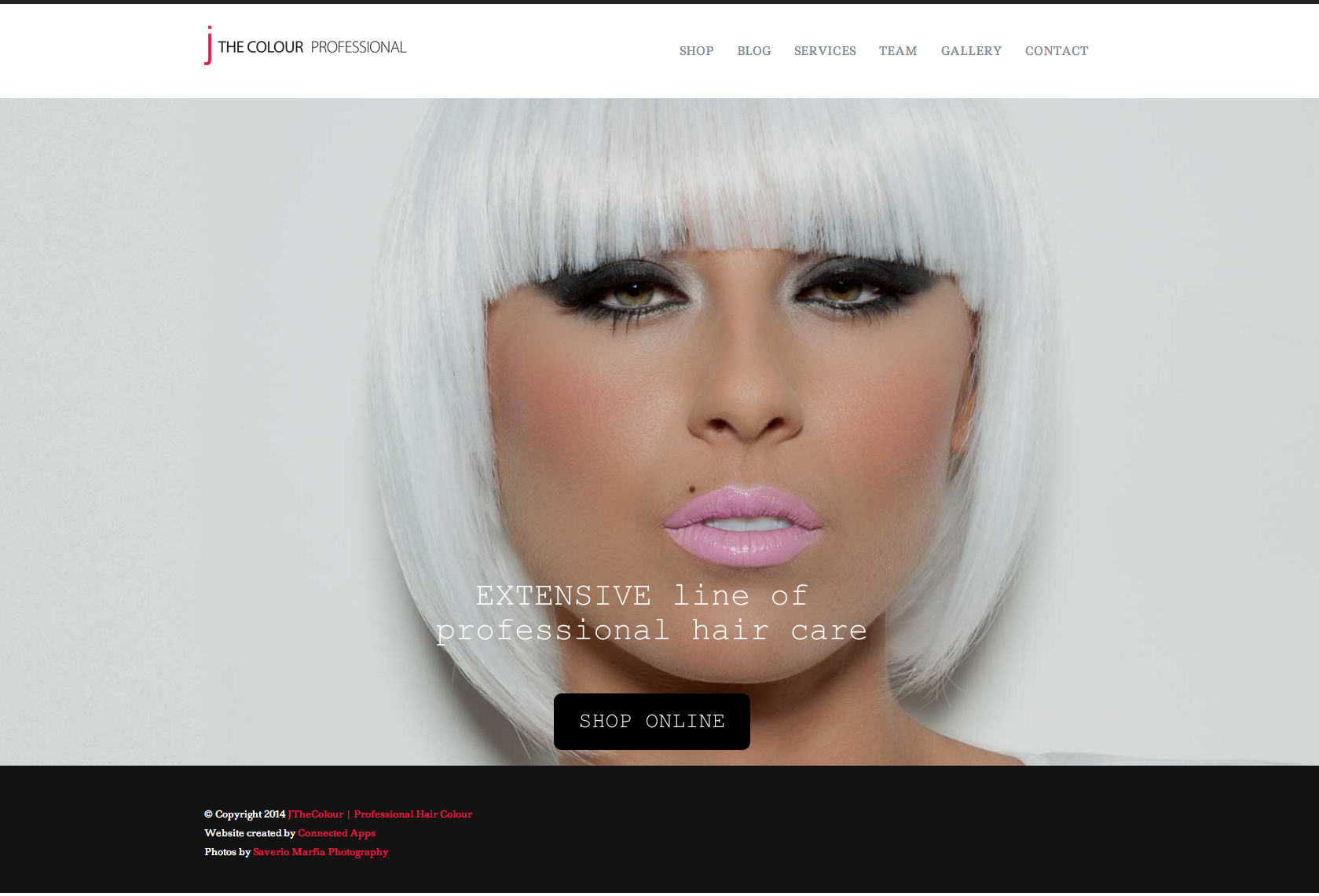 Jthecolour Responsive website
